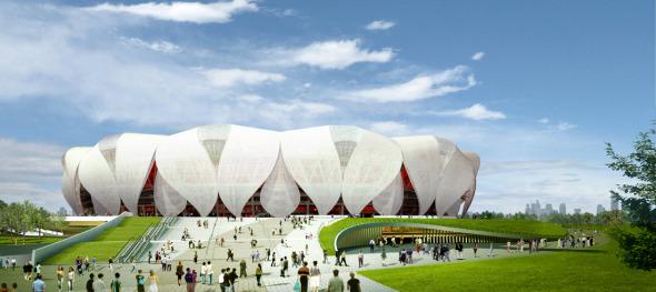Complejo Deportivo y Comercial para Hangzhou