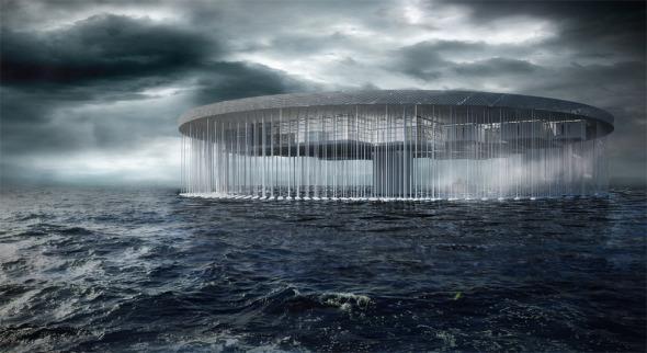 Prisión en el oceano - 2do Lugar