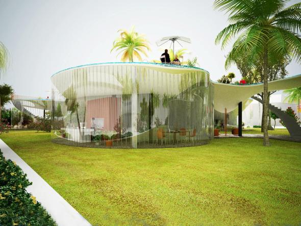 Propuestas para la casa con piscina en el techo nl Piscina interior precio