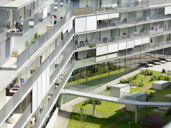 Mejorando la calidad de vida en centros urbanos. Proyecto de Vivienda Messequartier