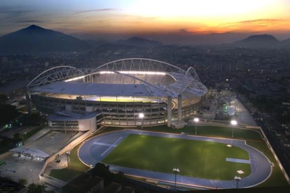 Estadio olímpico de Río de Janeiro cerrado por fallas estructurales