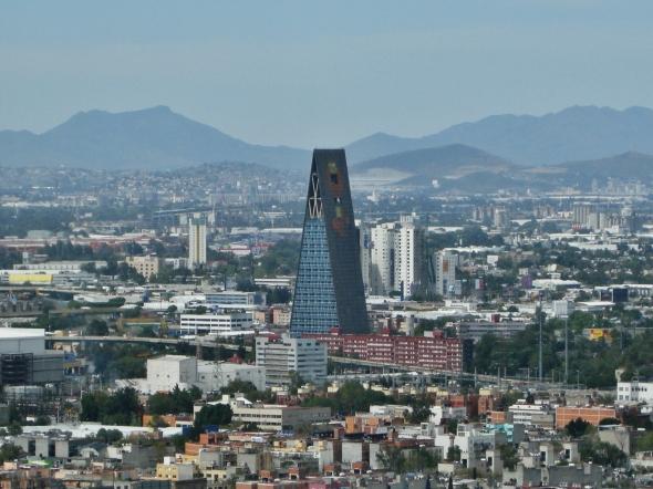 Torre que fue la 2da más alta de México. Mario Pani