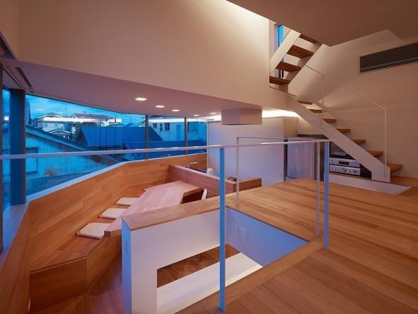 Casa de desniveles en Matsubara