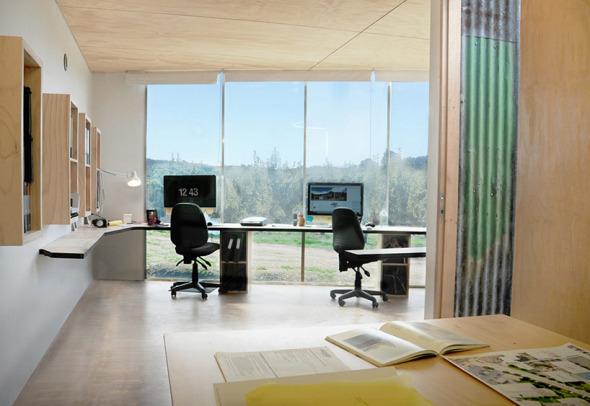 Una oficina para arquitectos dise ado por arquitectos for Oficinas de arquitectura