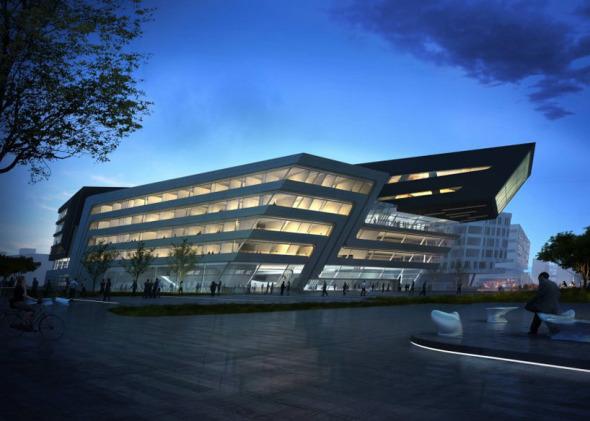 El campus de la Universidad de Viena a diseño de Zaha Hadid en marcha
