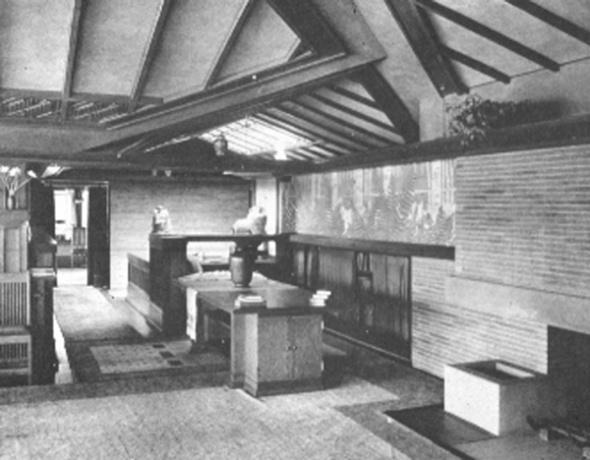 arquitecto frank lloyd wright proyecto casa coonley ubicacin riverside estados unidos frank lloyd wright