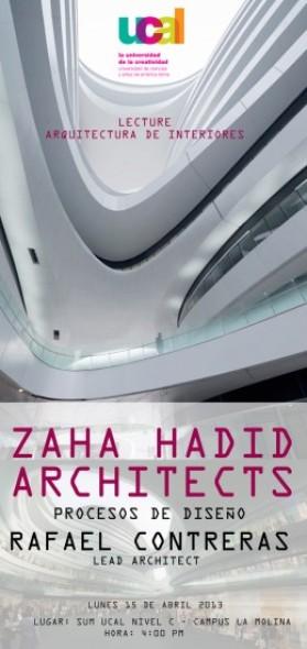 Procesos de Diseño por  Zaha Hadid Architects