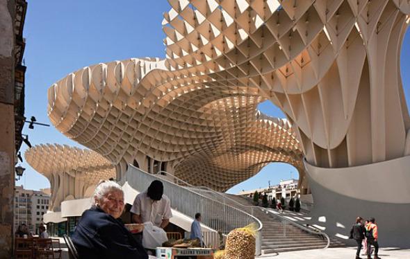 Jurgen Mayer arquitecto y escultor que toma riesgos