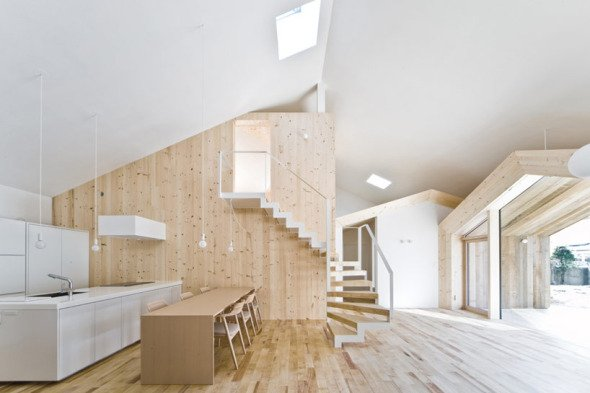 Casa sobre una casa