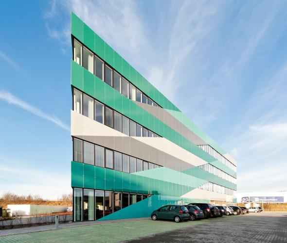Edificio Administrativo en Dinamarca