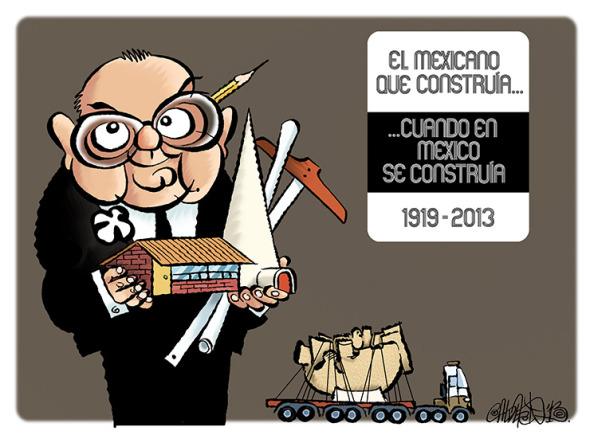El caricaturista Paco Calderón habla de Pedro Ramírez Vázquez