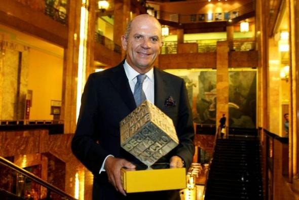Premio Trayectoría para Javier Sordo Madaleno