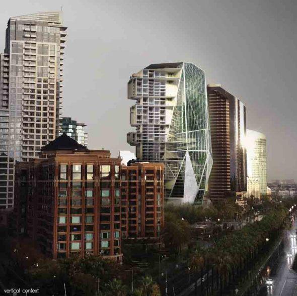 SI Live, Share, Grow; un modelo de rascacielos huerto para la ciudad de San Francisco