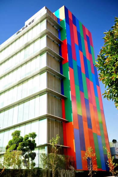 Edificio colorido