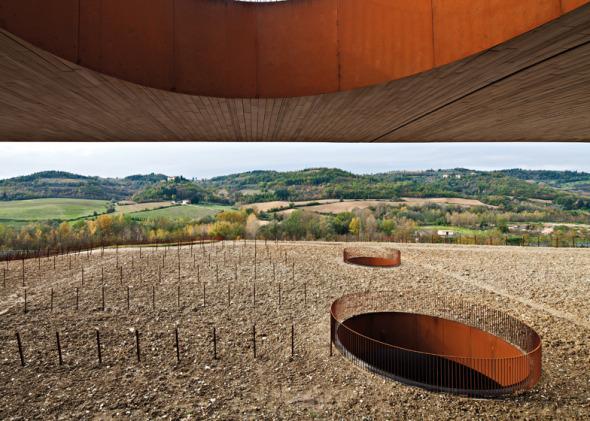 Bodega de vinos tradicional