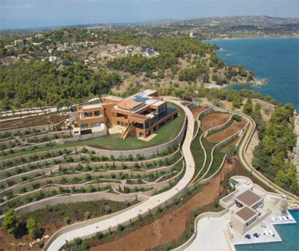 Rebasando Fronteras. Casa en Grecia. Legorreta y Legorreta