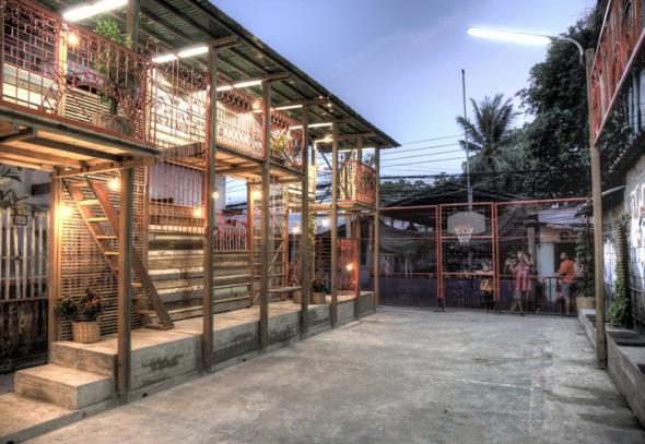 Klong Toey Community Lantern un proyecto que además de mejorar una comunidad le enseña a tomar provecho de los recursos más simples