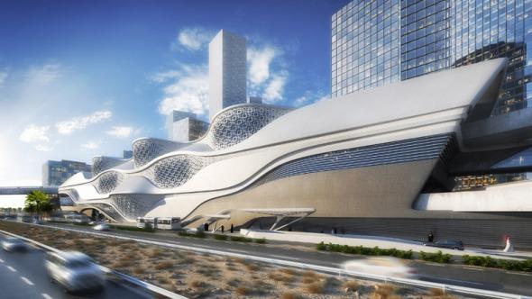 Zaha Hadid gana competencia para estación de metro en Arabia Saudita
