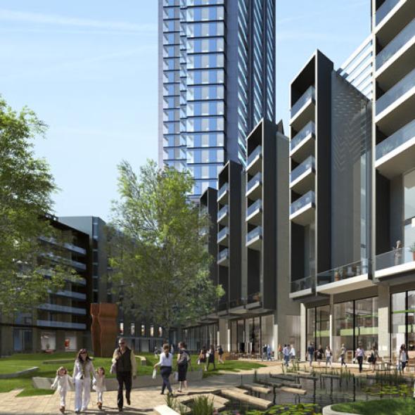 Dos nuevas torres en Londres de Foster and Partners
