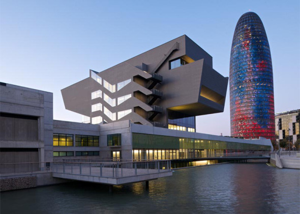 Museo metálico en Barcelona