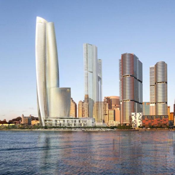 Una escultura habitable en Sydney