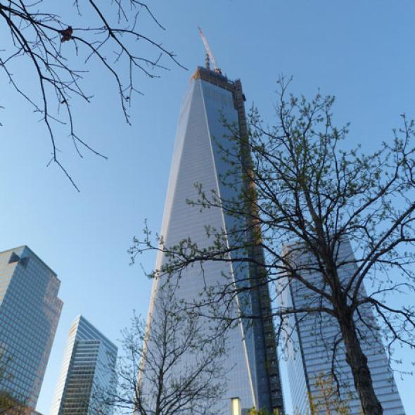 One World Trade Center la torre más alta de EE.UU.