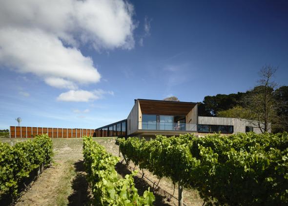 Casa en el viñedo