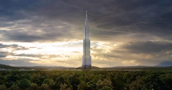 El edificio más alto del mundo aplaza su entrega