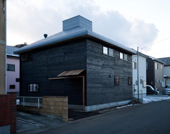 Casa carbonizada