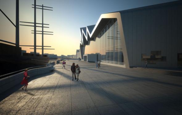 Museo Riverside de Glasgow de Zaha Hadid gana Museo Europeo del Año