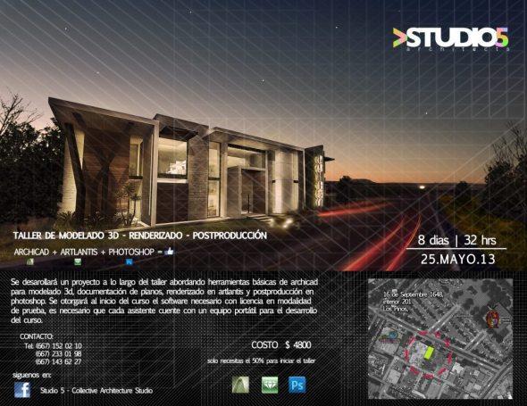 Taller de Modelado 3D, Renderizado y Post Producción / Studio 5