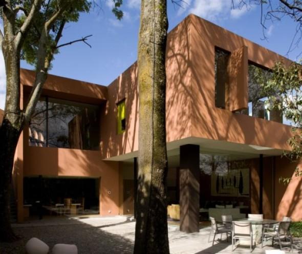 Casa de los tres fresnos