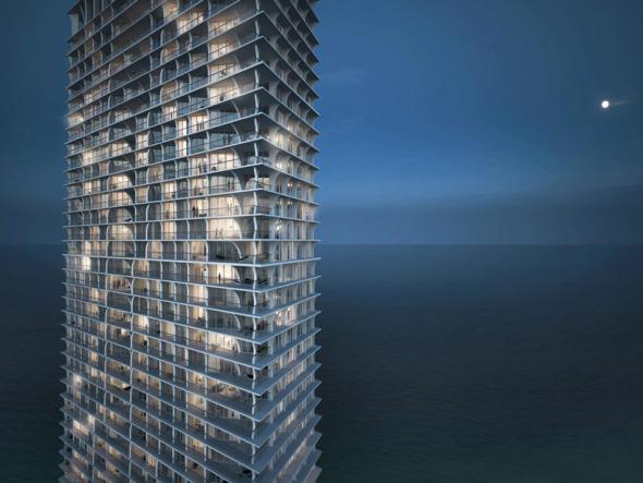 Herzog and de Meuron construyen edificios de lujo en Miami
