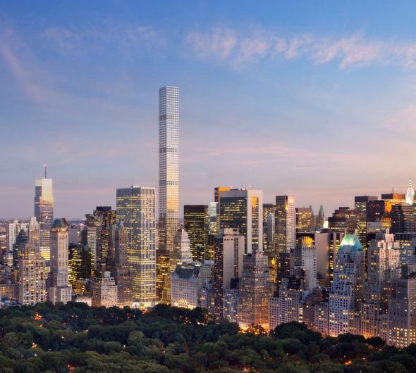 432 Park Avenue, el edificio más alto del hemisferio