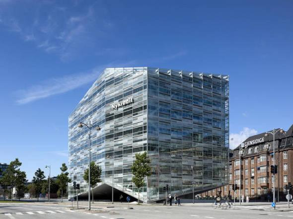 Edificio de Cristal en Dinamarca