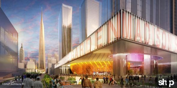 Shop Architects Transforman Penn Station en Gotham Gateway