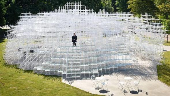 Sou Fujimoto revela diseño de Serpentine Gallery 2013