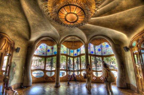 Casa Batló de Antoni Gaudí