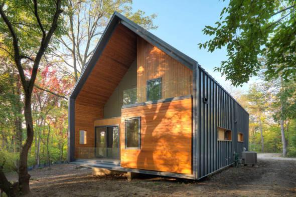 Arquitectura doméstica sustentable. Casa Matchbox