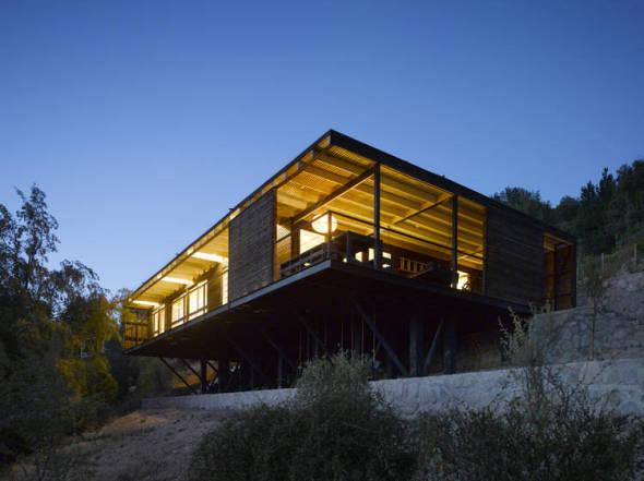 Casa en la ladera