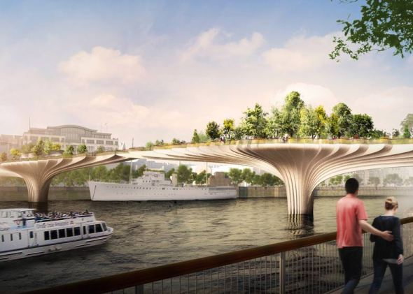 Nuevo puente-jardín para Londres
