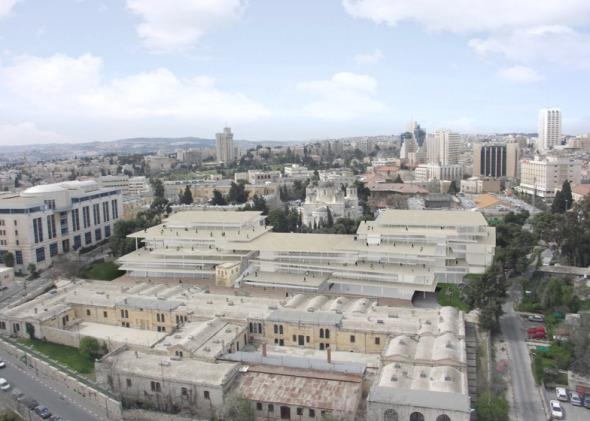 Nuevo Campus de la Academia Bezalel de Arte y Diseño de Israel