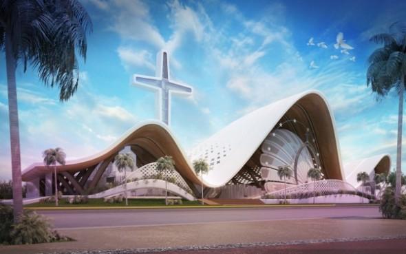 La Basílica Santa María del Mar en Cancún