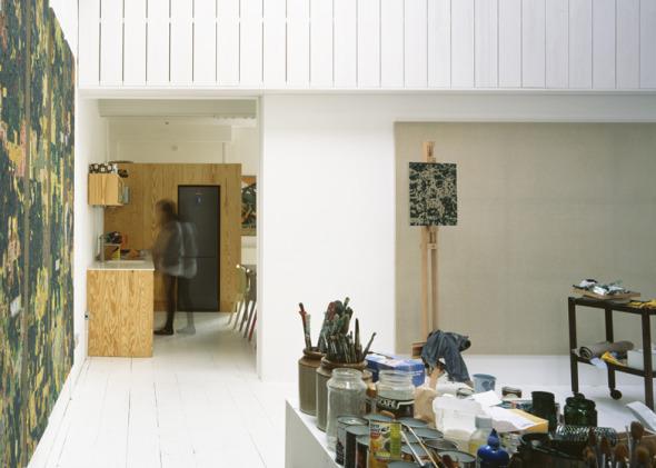 Casa para un pintor