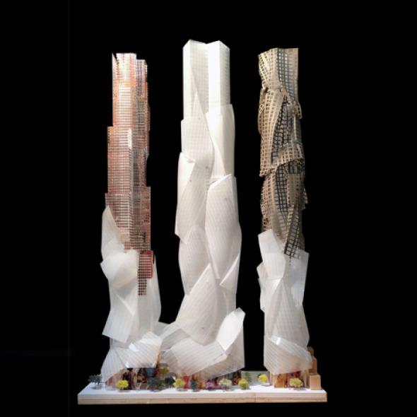 Torres en Toronto diseñadas por Frank Gehry