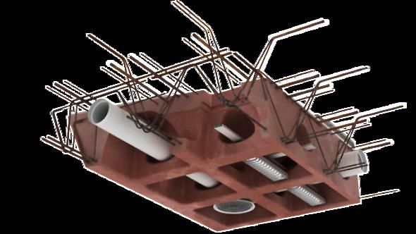 HOLEDECK: Posiblemente la estructura de losa de hormigón más sustentable del mundo