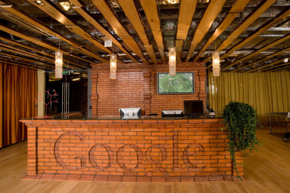 Otra extravagancia de Google: Un rascasuelos en la ciudad de Londres