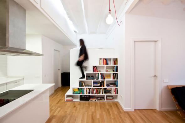 Demoliendo paredes para abrir espacios