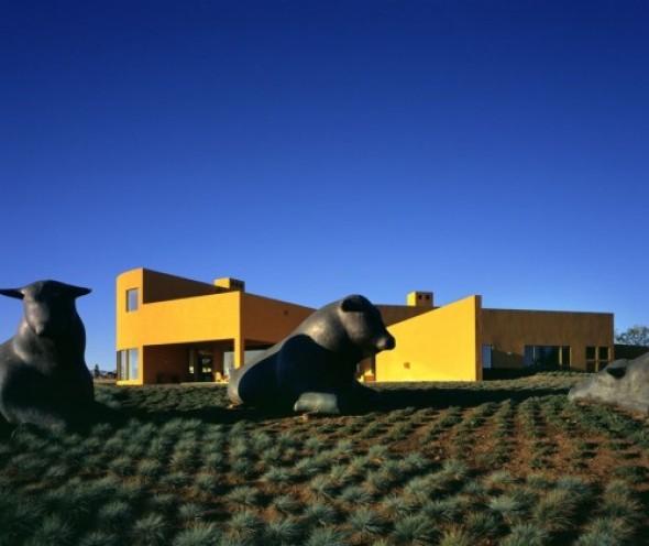 Casa Californiana desde el punto de vista de Legorreta y Legorreta