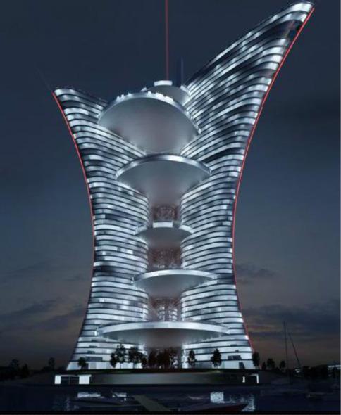 Cancelada la construcción de Torre Venecia de Pierre Cardin